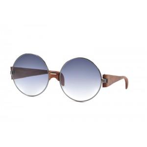 vintage Trussardi Silver Wood 1 sunglasses