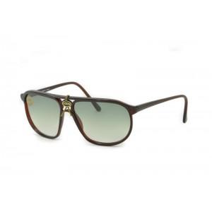 vintage Lozza Zilo Sport 65 green sunglasses