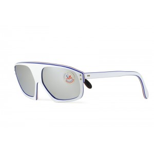 vintage Cebe white sunglasses