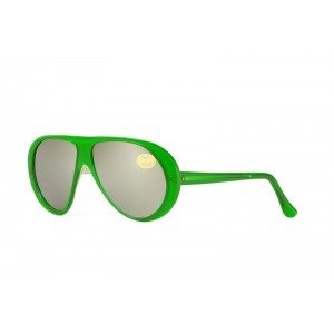 vintage Italianline-green sunglasses