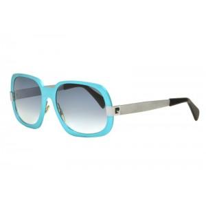 vintage Pierre Cardin aluminum  azure sunglasses